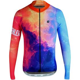 Biehler Thermal Rain Langærmet cykeltrøje Herrer farverig